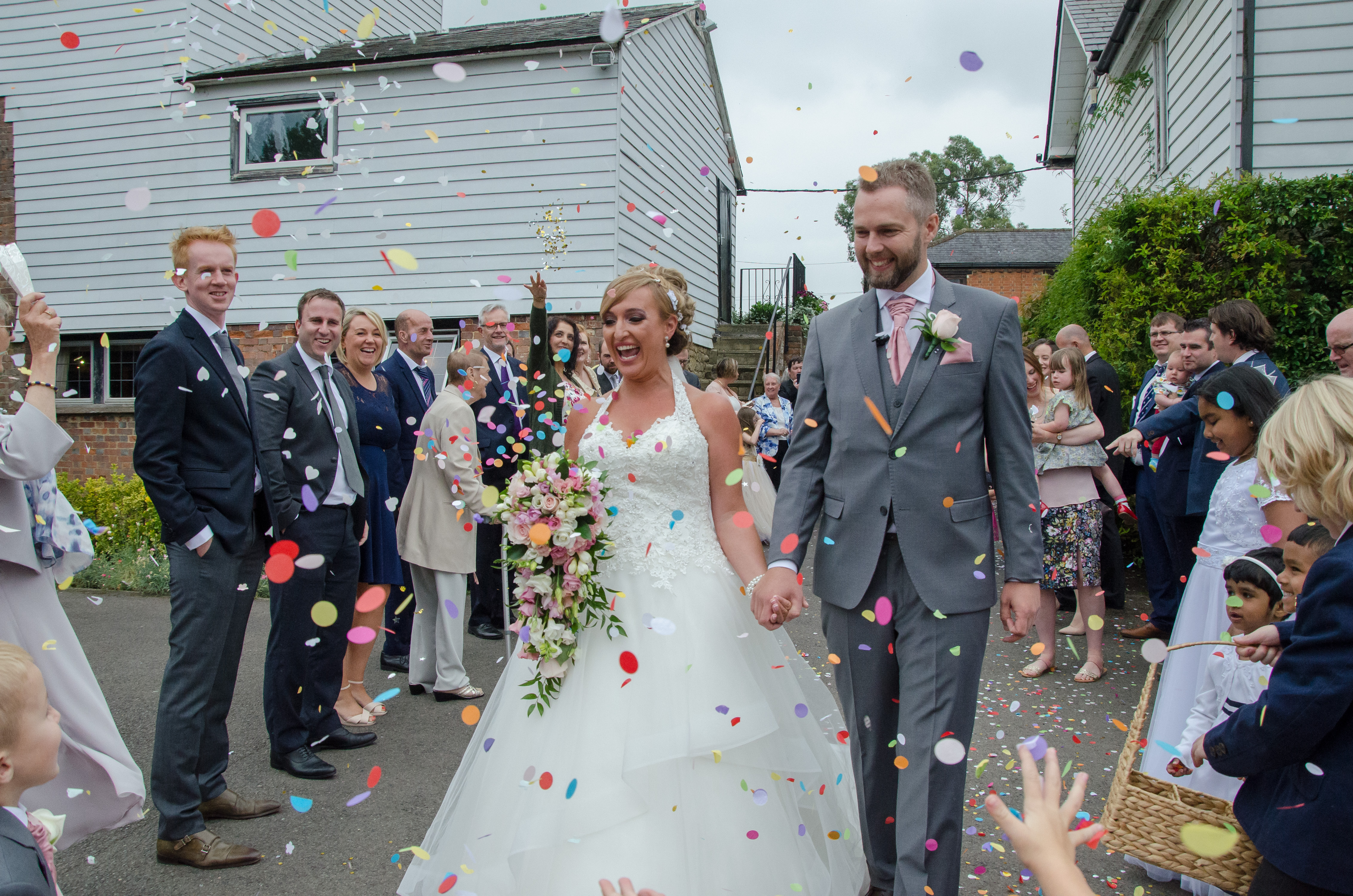 Summer Wedding at Colstford Mill